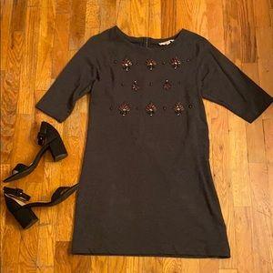 LOFT jeweled dress